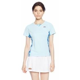 (ヨネックス)YONEX ソフトテニスウェア シャツ 20396 [レディース] 20396 111 アクアブルー L