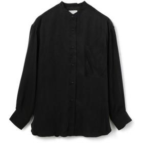 ONEGRAVITY / スタンドカラーロングシャツ ブラック/MEDIUM(エストネーション)◆メンズ シャツ/ブラウス