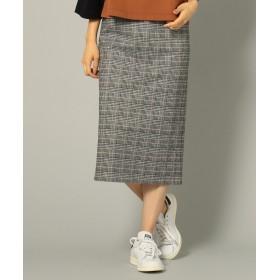 SHARE PARK LADIES(シェアパークレディース)/ジャガード グレンチェック タイトスカート