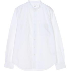 【6,000円(税込)以上のお買物で全国送料無料。】mens レギュラーオーガニックオックスバンドカラーシャツ