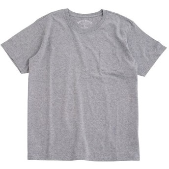【レディース】 オーガニックコットン100%素材のクルーネックTシャツ(半袖) - セシール ■カラー:ミディアムグレー ■サイズ:S,7L,L,M,LL,5L,3L