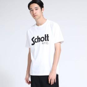 tk.TAKEO KIKUCHI(ティーケー タケオキクチ:メンズ)/Schott  Tシャツ