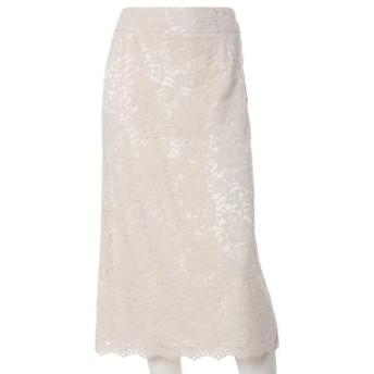 [マルイ]【セール】《大きいサイズ》レースストレートスカート/INED L(イネド)(INEDL)