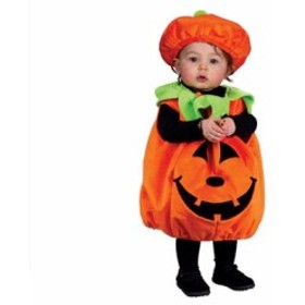 カボチャ かぼちゃ パンプキン 赤ちゃん 子供用 キッズ コスチューム コスプレ ハロウィン 衣装 ベビー 仮装 幼児コスチューム 24ヶ月ま