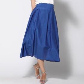 ビアッジョブルー(大きいサイズ)(Viaggio blu)/≪大きいサイズ≫フレアスカート