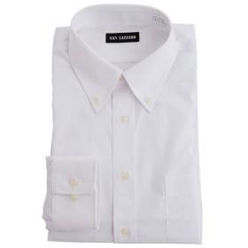 【メンズ】 出張や洗い替えにも便利!形態安定Yシャツ(長袖)(S-5L) - セシール ■カラー:ホワイトB(ボタンダウン衿) ■サイズ:LL,L,3L,M,4L,S,5L