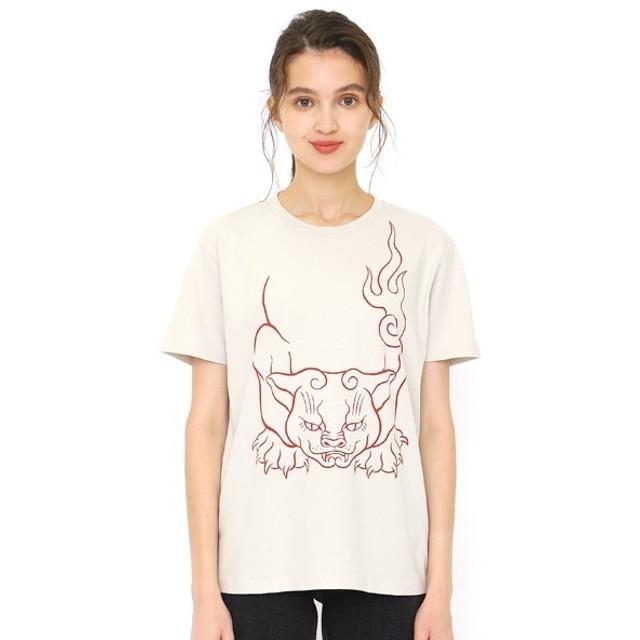 [マルイ] 【ユニセックス】コラボレーションTシャツ/化け猫(石黒亜矢子)/グラニフ(graniph)