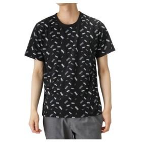 (MAC HOUSE/マックハウス)LOVE-T MARVEL ロゴ Tシャツ 932045MH/メンズ ブラック