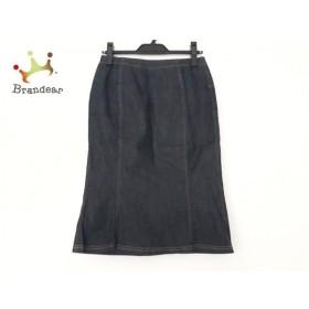 ケイタマルヤマ KEITA MARUYAMA スカート サイズ0 XS レディース 美品 ダークネイビー デニム 新着 20190816