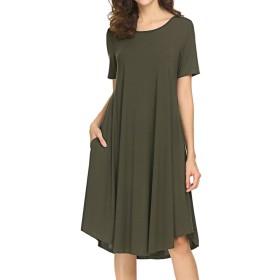Locryz DRESS レディース US サイズ: Medium カラー: グリーン