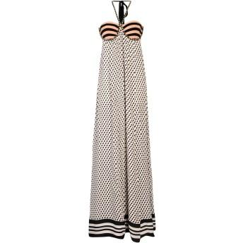 《セール開催中》ELISABETTA FRANCHI レディース ロングワンピース&ドレス ローズピンク 40 レーヨン 100% / コットン / ポリウレタン