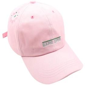 メッシュキャップ Masinalt 野球帽 男性 女性 カラー 刺繍 アルファベット キャップ 日焼け 止め バイザー 速乾 軽薄 日よけ野球帽,登山 釣り ゴルフ 運転 アウトドアなどにメッシュ帽 (02-ピンク)