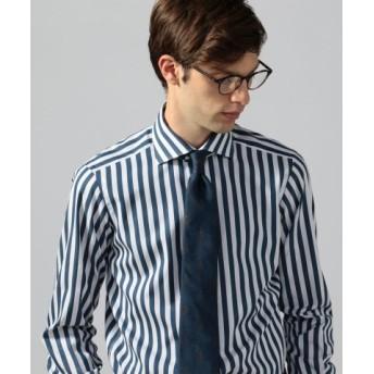 (TOMORROWLAND/トゥモローランド)120/2コットンブロード ワイドカラー ドレスシャツ NEW WIDE-5/メンズ 66ブルー系 送料無料