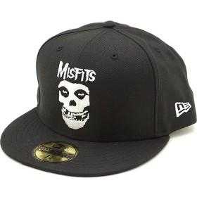コラボ ニューエラ キャップ NEWERA 59FIFTY ミスフィッツ MISFITS CAP メンズ レディース 帽子 BLACK ブラック系 12110816 FW19