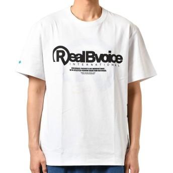 Real.B.Voice リアルビーボイス メンズ 半袖 Tシャツ 10091-10176 WHTBLU M