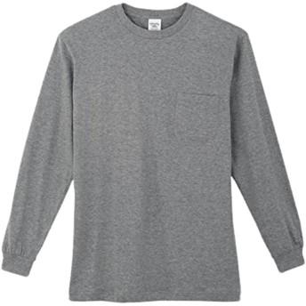 コーコス(CO-COS) 長袖Tシャツ 作業服 作業着 作業シャツ 長袖Tシャツ cc-3008 モクグレー M