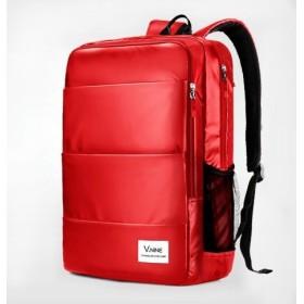 YY-SHOP リュックサック 2way ショルダーバック ビジネスリュック 4色入り 大容量 A4サイズ対応 (big size, red)