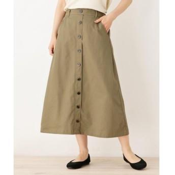 SHOO・LA・RUE / シューラルー 前ボタン付きロングスカート