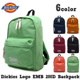 [ディッキーズ] リュックサック ロゴ EMB 200 バックパック レディース メンズ 正規品 ワンサイズ オレンジ
