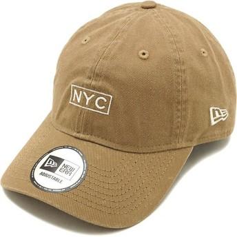ニューエラ キャップ NEWERA ボックスロゴ 9THIRTY NYC クロスストラップ メンズ・レディース 帽子 KHA S.WHT カーキ系 12119371 FW19