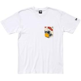 オンスポッツ別注 (ニューエラ) NEW ERA Tシャツ FUJIETTE ALOHA ホワイト XL