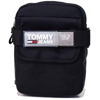 トミーヒルフィガー バッグ TOMMY HILFIGER ポリエステル ロゴ 斜めがけ クロスボディ ショルダーバッグ ブラック E38AM04836-002
