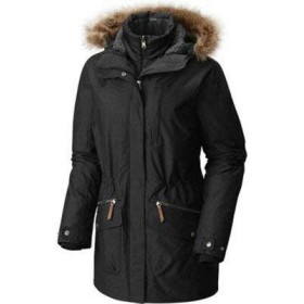 コロンビア レディース コート Black Carson Pass Interchange Jacket S