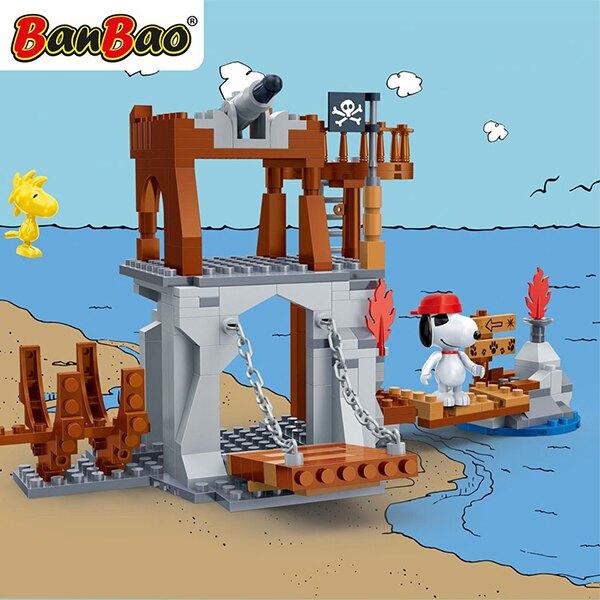 7518【BanBao 積木】史努比系列-夢想海賊島