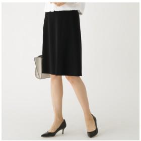 【インディヴィ/INDIVI】 [S]【マシンウォッシュ/UV】2WAYストレッチフレアスカート