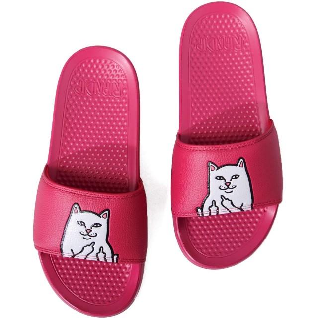 RIPNDIP リップンディップ サンダル シャワーサンダル ぺたんこ 歩きやすい お猫 ネコ LORD JERMAL SLIDES リッピンディップ Rip N Dip RND3659-65
