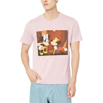 ウィゴー(メンズ)(WEGO) ディズニー別注プリントTシャツ【柄8/M】