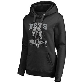 Fanatics Branded Fanatics Branded Brooklyn Nets Women's Black Star Wars Roll Deep with the Empire Pullover Hoodie スポーツ用品 S 【並行輸入品】