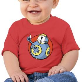 ゲーム フォールアウト キッズ ベビー Tシャツ 半袖シャツ コットン 丸首 柔らかい 幼児上着 男の子 女の子 6ヶ月-2歳 6色 プレゼント