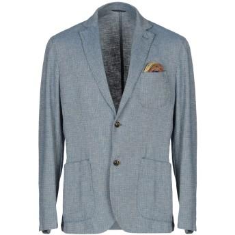 《期間限定セール開催中!》AT.P.CO メンズ テーラードジャケット ブルーグレー 46 麻 55% / コットン 45%