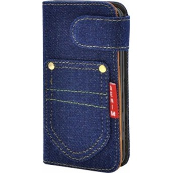 PLATA iPhone SE / 5s / 5 ケース 手帳型 デニム スタンド ポーチ カバー アイフォン iPhone5 iPhone5s iPhoneS