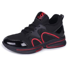 女性のスニーカー、2018秋と冬の女性の野生の女性の靴厚いカジュアルシューズの韓国語バージョンファッションスニーカー (色 : A, サイズ : 37)