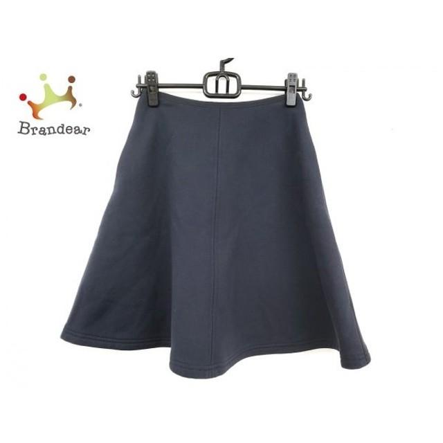 エムズグレイシー M'S GRACY スカート サイズ36 S レディース ネイビー   スペシャル特価 20191121