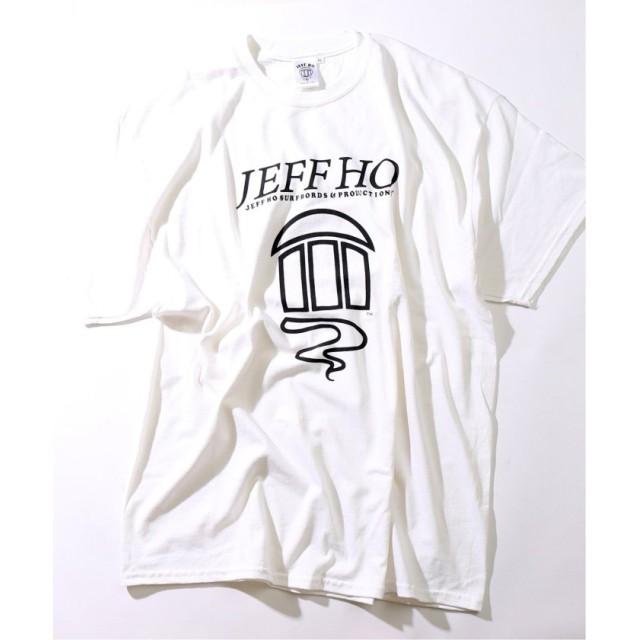ジャーナルスタンダード Jeff Ho / ジェフ・ホー FRONT PRINT Tシャツ メンズ ホワイト L 【JOURNAL STANDARD】