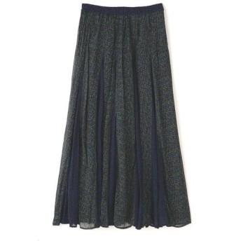 ROSE BUD / ローズ バッド Rayon Ggt Flower Mix Skirt