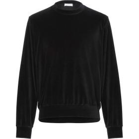 《期間限定 セール開催中》IH NOM UH NIT メンズ スウェットシャツ ブラック M コットン 80% / ナイロン 20%