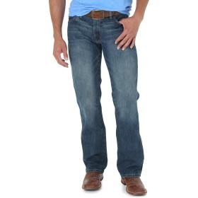 ラングラー メンズ ジーンズ レトロ スリムフィット ブーツカット US サイズ: 29W x 32L カラー: ブルー