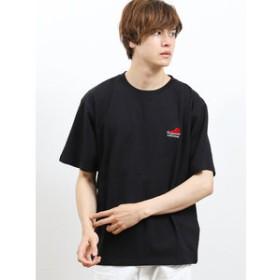 【on the day:トップス】【WEB限定販売】コンバース/CONVERSE 胸シューズサガラ刺繍半袖Tシャツ