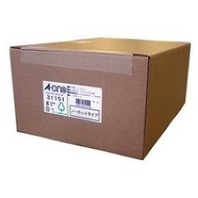 エーワン ラベルシール(プリンタ兼用) A4 1面 31151 ( 1000シート )