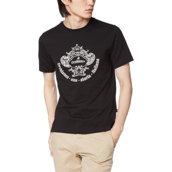 [オロビアンコ] 半袖Tシャツ コロナロゴ半袖Tシャツ 43170-321 ブラック 日本 M(46) (日本サイズM相当)