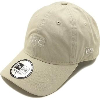 ニューエラ キャップ NEWERA ボックスロゴ 9THIRTY NYC クロスストラップ メンズ・レディース 帽子 IVO S.WHT ホワイト系 12119372 FW19