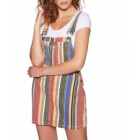 ルーカ RVCA レディース ワンピース ワンピース・ドレス Candeh Pinny Dress Multi