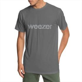 Weezer ウィーザー LOGOTシャツ 男性 半袖 トップス 吸汗 通気 丸首 カジュアル 青少年 通学 通勤 アウトドア ファッション