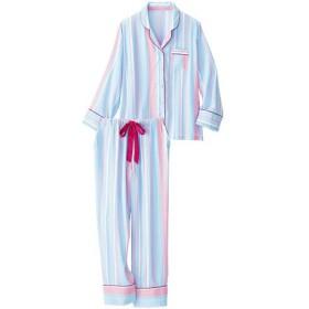 【レディース】 シャツパジャマ - セシール ■カラー:ストライプ ■サイズ:M
