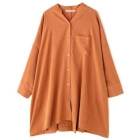 ROSE BUD / ローズ バッド バンドカラースキッパーシャツ