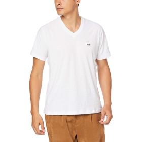 (ディーゼル) DIESEL メンズ Tシャツ Vネック ワンポイント 00SZLP0QAQU M ホワイト 100